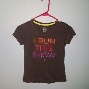 Girls active shirt